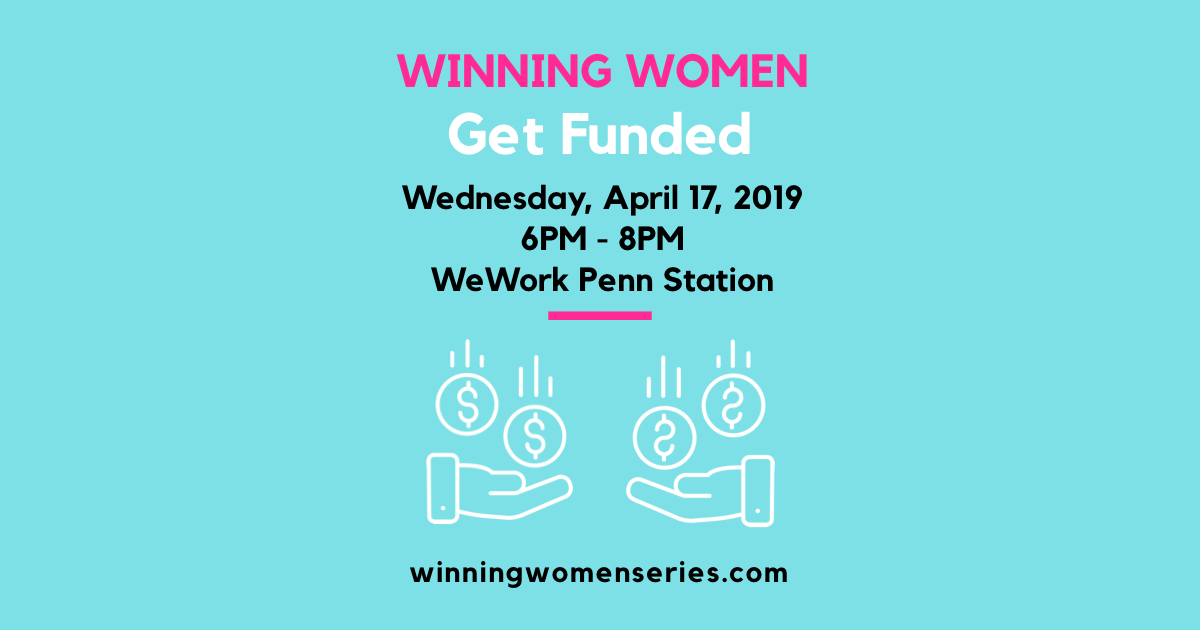 Winning Women: Get Funded