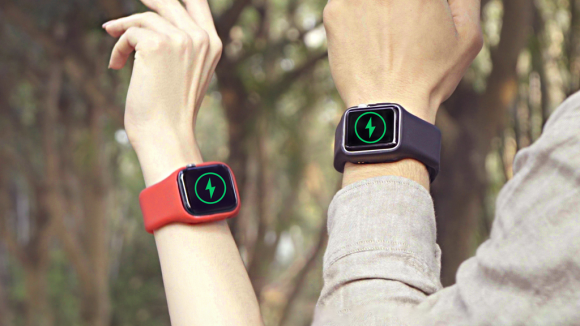 Batfree, World's First Power Strap for Apple Watch