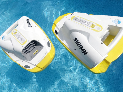 SWIMN S1: Powered Kickboard for Swimming Faster